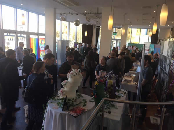 another packed gay wedding show in London 2018